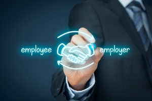 Employee and employer
