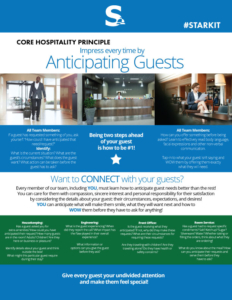 Think Different! Get into the Mentality of Anticipating Guests' Needs!